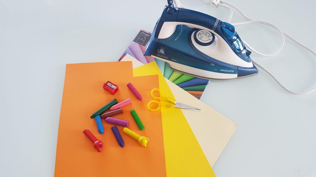 Materialien für Farbexplosion