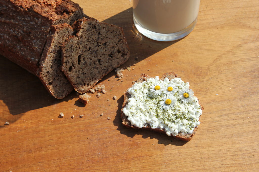 Blümchen-Brot