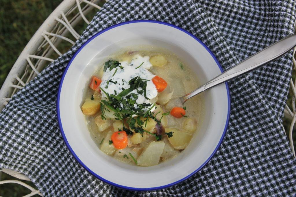 Kartoffel – Kohlrabi Eintopf